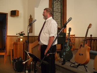 Greg at St. Petre Lutheran Church