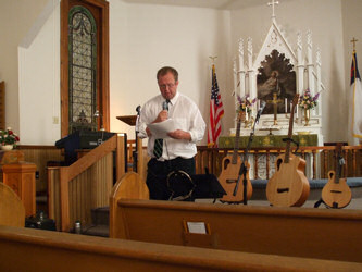 Mark at St. Petrie Lutheran Church